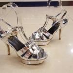 รองเท้าส้นสูงสุดฮอตสไตล์ YSL(