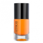 CATRICE ULTIMATE Nail LACQUER #04 Orange-utan 10ml.ยาทาเล็บสีเงา