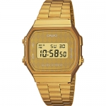 นาฬิกาข้อมือผู้หญิงCasioของแท้ A168WG-9BW