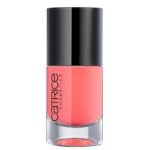 CATRICE ULTIMATE Nail LACQUER #20 Meet me at coral island 10ml.ยาทาเล็บสีเงา