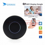 Q1 wifi Display Dongle for ios android have av cable for TV support HD and AV output