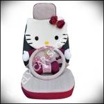 ชุดหุ้มเบาะลาย Hello Kitty แบบเต็มตัวผ้าตาข่าย