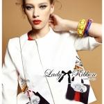 Julianna Sassy Embellished Surreal Print Blouse