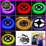 LED Strip set RGB 5050 (ไฟ LED เส้นริบบิ้น RGB Strip 5050 เปลี่ยนสีได้ )