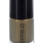 CATRICE ULTIMATE Nail LACQUER #33 ln The Armee Glow 10ml.ยาทาเล็บสีเงา