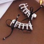 พร้อมส่ง Hefang Bangle Jewelry ต่างหูเพชรแบรน Hefang