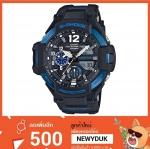 GShock G-Shockของแท้ ประกันศูนย์ GA-1100-2B จีช็อค นาฬิกา ราคาถูก