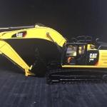 โมเดลรถก่อสร้างเหล็ก CAT 336E H Hybrid by Diecast Masters