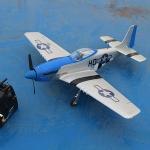 เครื่องบินรบ P51D Mustang Brushless moter VOLANTEX RC