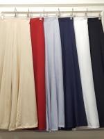 เสื้อผ้าแฟชั่นพร้อมส่ง กางเกงขายาวปลายขาบาน
