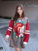 เสื้อผ้าแฟชั่นมาแรงพร้อมส่ง we wish you a merry christmas มาแล้วค้าา