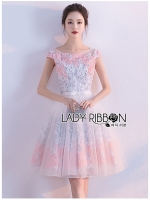 Catherine Dreamy Little Princess Flower Embroidered Tulle Dress