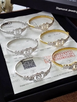 Chanel Bangle กำไลชาแนล งานทอง5 ไมครอนพร้อมส่ง