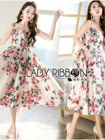 Amy Rose Blossom Printed Crepe Dress