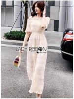 Angie Off-Shoulder Ivory Pleated Chiffon Long Dress
