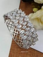 พร้อมส่ง Diamond Bangle กำไลเพชรงานสวยมากก