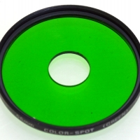 HOYA COLOR-SPOT(GREEN)55MM.