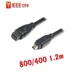 สายแปลง IEEE firewire1394 800ไป400 4pหัวเล็ก 1.2m