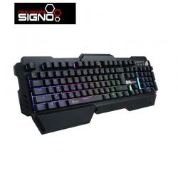 SIGNO E-Sport Semi Mechanical Gaming Keyboard Rubber Dome รุ่น PANDORA KB-749