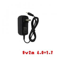 adapterที่ชาร์จ DC 9v 2a หัวเล็ก 4.0*1.7mm -black