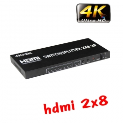 hdmi switch splitter full hd 3D 2160p 4kx2k 2x8