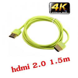 Linoya สายHDMI V2.0 FULL HD 3D 4k 2160P ยาว1.5m สายเล็ก