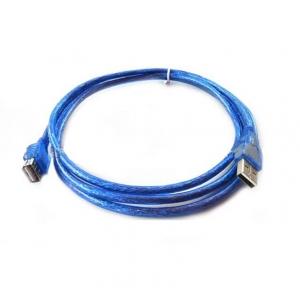 usb ต่อยาว Extention cable AM AF 1.8m v2.0- blue