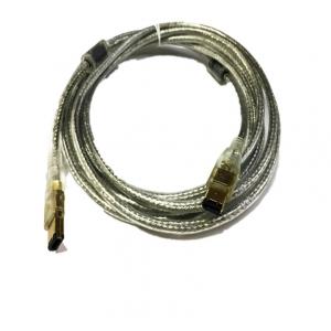 สายแปลง IEEE firewire1394 6P/6P หันใหญ่ไปหันใหญ่ 1.8m