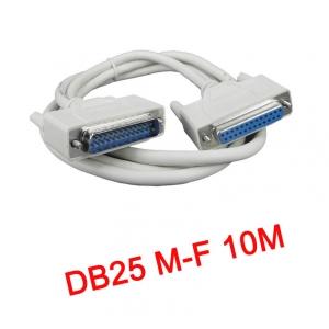 สายParallel Cable DB25 Male to Female 10m