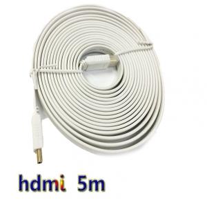 สายแบน hdmi to hdmi V1.4 FULL HD 3D ยาว5m มีเสียงด้วย