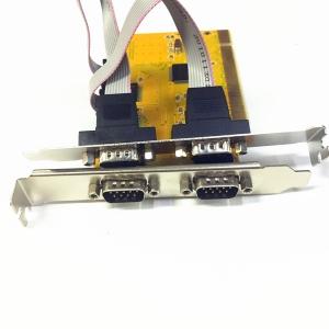 Card pci serial com port RS232 9pin 4port -black