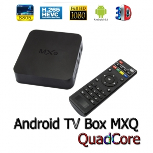 Android Smart Tv box MTQ 4.4 S805 QuadCore Full hd