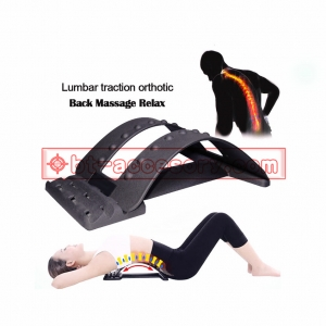 Back Stretcher Lumbar Support Device For Upper and Lower Back Pain Relief