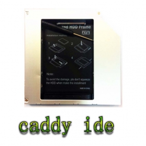 2nd HDD Tray (Caddy) 2.5 SATA hdd for notebook แบบ IDE 12.7mm