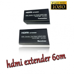 hdmi extender ใช้ สาย lan cat 5e-6 ต่อยาวได้ถึง 60m