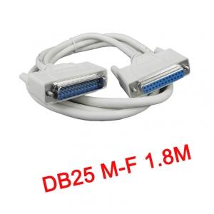 สายParallel Cable DB25 Male to Female 1.8m