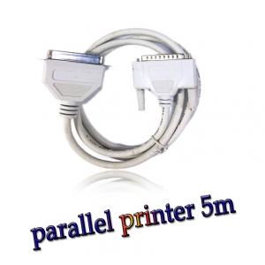 สาย parallel printer cable ยาว 5m -Gray