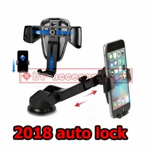 ที่วางมือถือในรถ ขาจับโทรศัพท์ แบบยืดได้ติดกระจก คอนโทรลรถ โต๊ะ 2018 auto lock