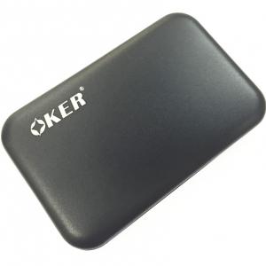 """okerกล่องใส่ HDDเล็ก ของ notebook 2.5"""" USB 3.0 แบบSATA-black"""
