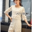 Ariana Round n' Round Cotton Embroidered Top and Pants Set thumbnail 6