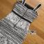 ชุดเดรสเกาหลี พร้อมส่งเดรสผ้าลูกไม้ขาวฉลุบนพื้นผ้าสีดำตั thumbnail 13
