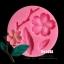พิมพ์ยางซิลิโคน 3D ลายซากุระ กิ่งไม้ ใบไม้ thumbnail 1