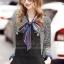 เสื้อผ้าแฟชั่นพร้อมส่ง Summer Fall Scottland Luxury Set thumbnail 3