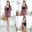 เสื้อผ้าเกาหลีพร้อมส่ง Zara Set เซต 3 ชิ้น (เสื้อคลุม+สายเดี่ยว+กางเกง) thumbnail 3