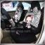 ชุดคลุมเบาะรถยนต์ รูปลิงลายเสือ ขาว-ดำ thumbnail 2