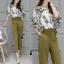 เสื้อผ้าเกาหลี พร้อมส่งGreen Garden Luxury Set thumbnail 4