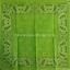 ผ้าเช็ดหน้า ผ้าพันคอ ลาย Paisley เขียวตอง