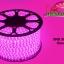ไฟสายยาง SMD 5050 (50 m.) สีชมพู (ท่อแบน) thumbnail 1