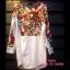 เสื้อผ้าเกาหลี พร้อมส่ง เชิ้ต Butterfly ตัวยาว thumbnail 2