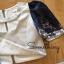 เสื้อผ้าแฟชั่น พร้อมส่ง เสื้อสีเทาแมกกับ กางเกง กระโปรงสีน้ำเงินมีชับในและชิ้ปหลัง thumbnail 6